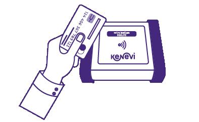 La carte sans contact NFC, carte bancaire, carte de transport, carte déjeuner,  du client devient sa carte de fidélité