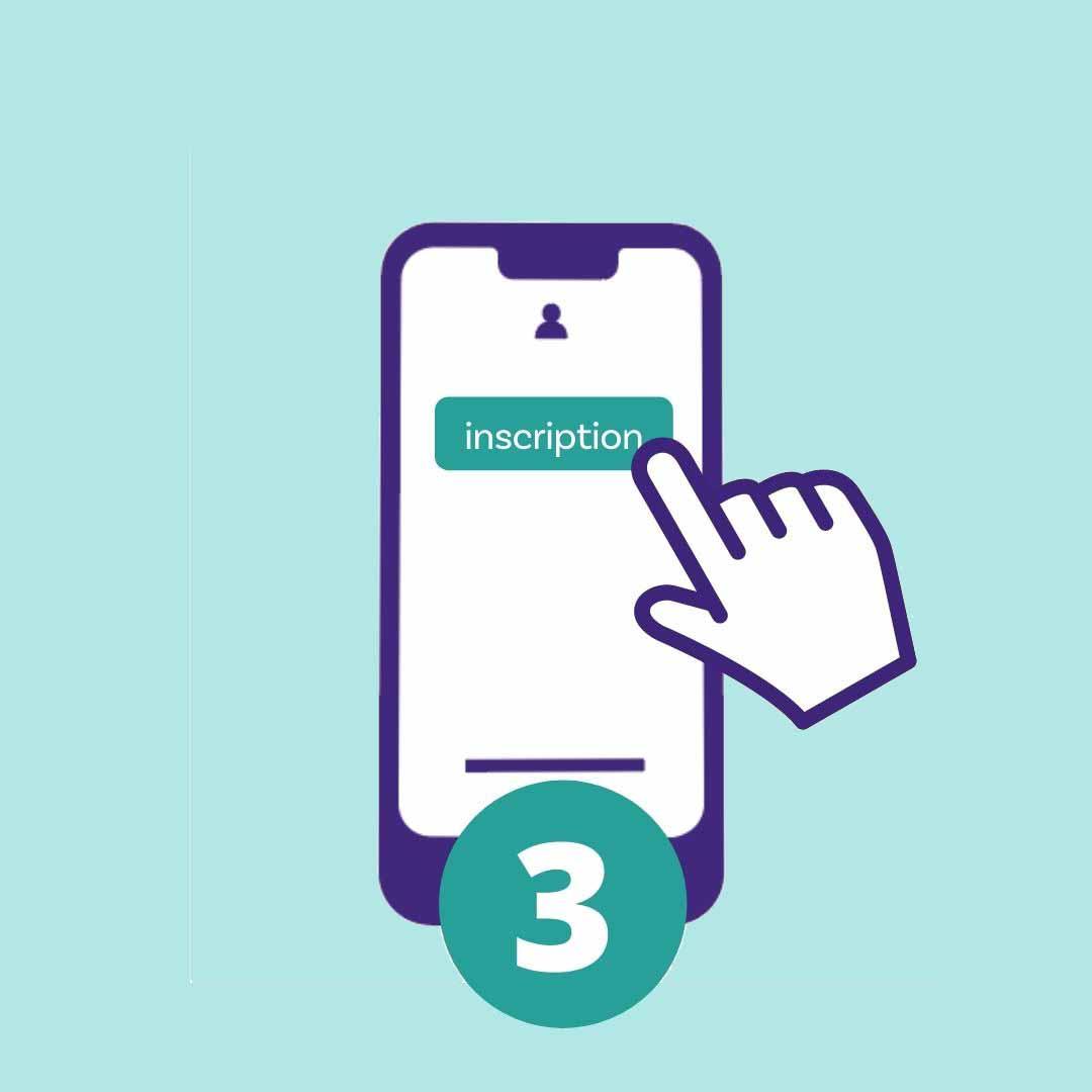 Les clients envoyent un numéro à quatre chiffres